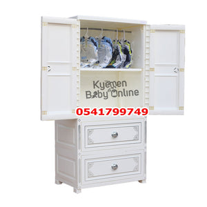 Drawer / Wardrobe (White) --685888