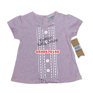 Baby Girl Dress (Pink with Purple, Jazzy )