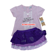 Load image into Gallery viewer, Baby Girl Dress (Pink with Purple, Jazzy )