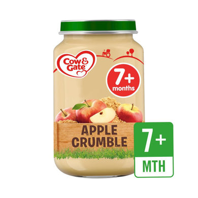 Cow And Gate Apple Crumble 6pcs - Kyemen Baby Online