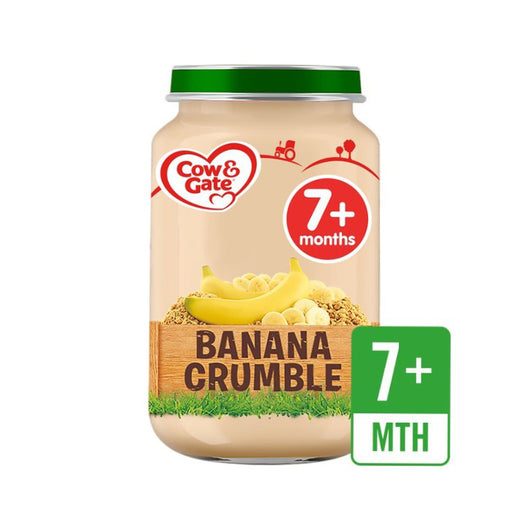 Cow And Gate Banana Crumble 6pcs - Kyemen Baby Online