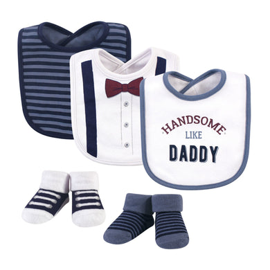 Baby Bib (3 Pieces With Socks) Handsome Daddy - Kyemen Baby Online
