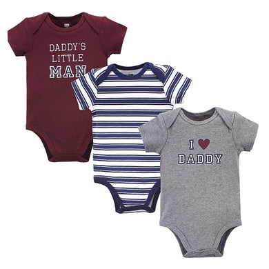 Baby Boy Body Suit/ Baby Dress (3pcs, Boy Daddy) - Kyemen Baby Online