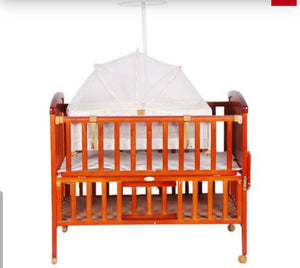 2 In 1 Wooden  Cot With Drawer SK-131 - Kyemen Baby Online