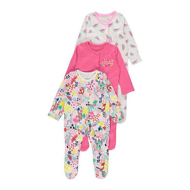 Baby Sleep Suit 3pcs (George Baby) - Kyemen Baby Online
