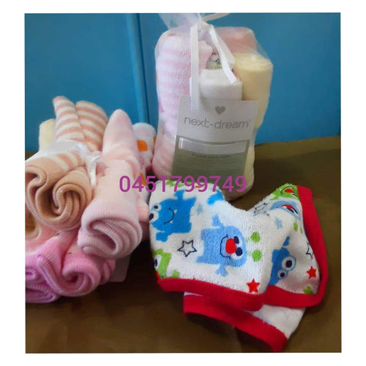 Baby Towels/ washcloth (Mouth Towel 8pcs) Next Dream - Kyemen Baby Online