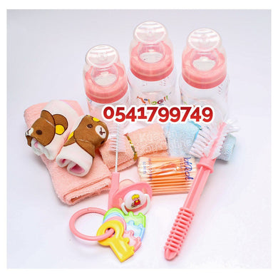 Bottle Set With Mouth Towel (Melboll) - Kyemen Baby Online