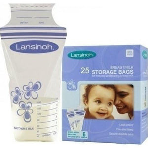 Breast Milk Storage Bag (Lansinoh) - Kyemen Baby Online