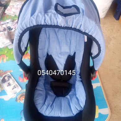 Car Seat Carrier ( Rose Baby) Blue - Kyemen Baby Online