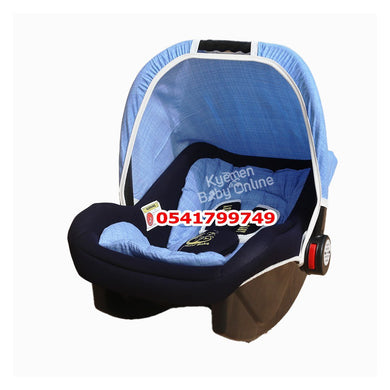 Car Seat Carrier ( Smart Baby) Blue - Kyemen Baby Online