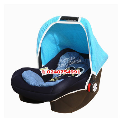 Car Seat Carrier ( Smart Baby) Blue and Blueblack - Kyemen Baby Online