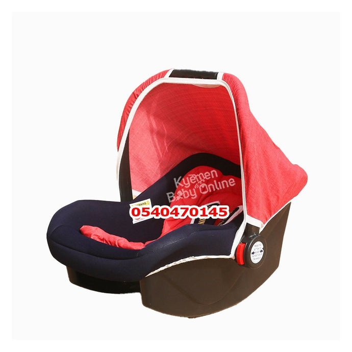 Car Seat Carrier ( Smart Baby) Red - Kyemen Baby Online