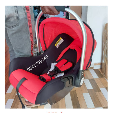 Car Seat Carrier SQ001 (Red Silver Handle) - Kyemen Baby Online