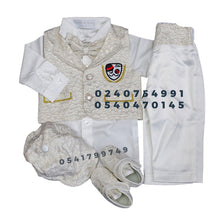 Load image into Gallery viewer, Baby Boy Dress (Boy Christening Dress Set)