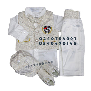 Baby Boy Dress (Boy Christening Dress Set)
