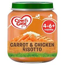 Cow & Gate Carrot & Chicken Risotto- 6pcs - Kyemen Baby Online