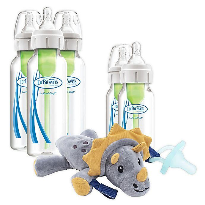 Dr. Brown's Bottle and Pacifier Gift Set 5pcs - Kyemen Baby Online