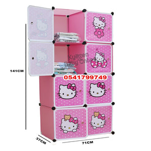 Drawer (8 Cubed Fabric Drawer) Hello Kitty - Kyemen Baby Online