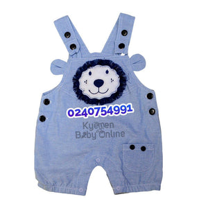 Baby Boy Dress (White And Blue, Baby Togs)
