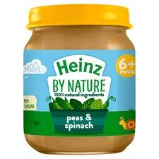 Heinz Pea and Spinach- 6pcs - Kyemen Baby Online