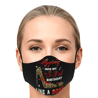 Premium Face Mask: Stepping Into 53rd My Birthday
