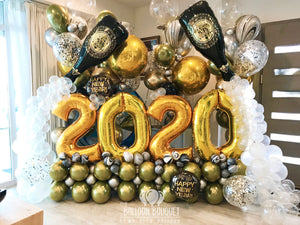 """Happy New Year!"" Balloon Bouquet"
