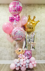 """Royal Baby Girl"" Bouquet"