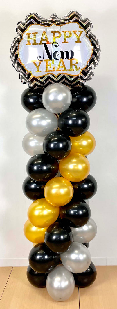 NYE Balloon Column