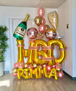 """Cheers"" Balloon Bouquet"