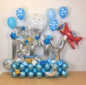 """Baby Boy"" Balloon Bouquet"