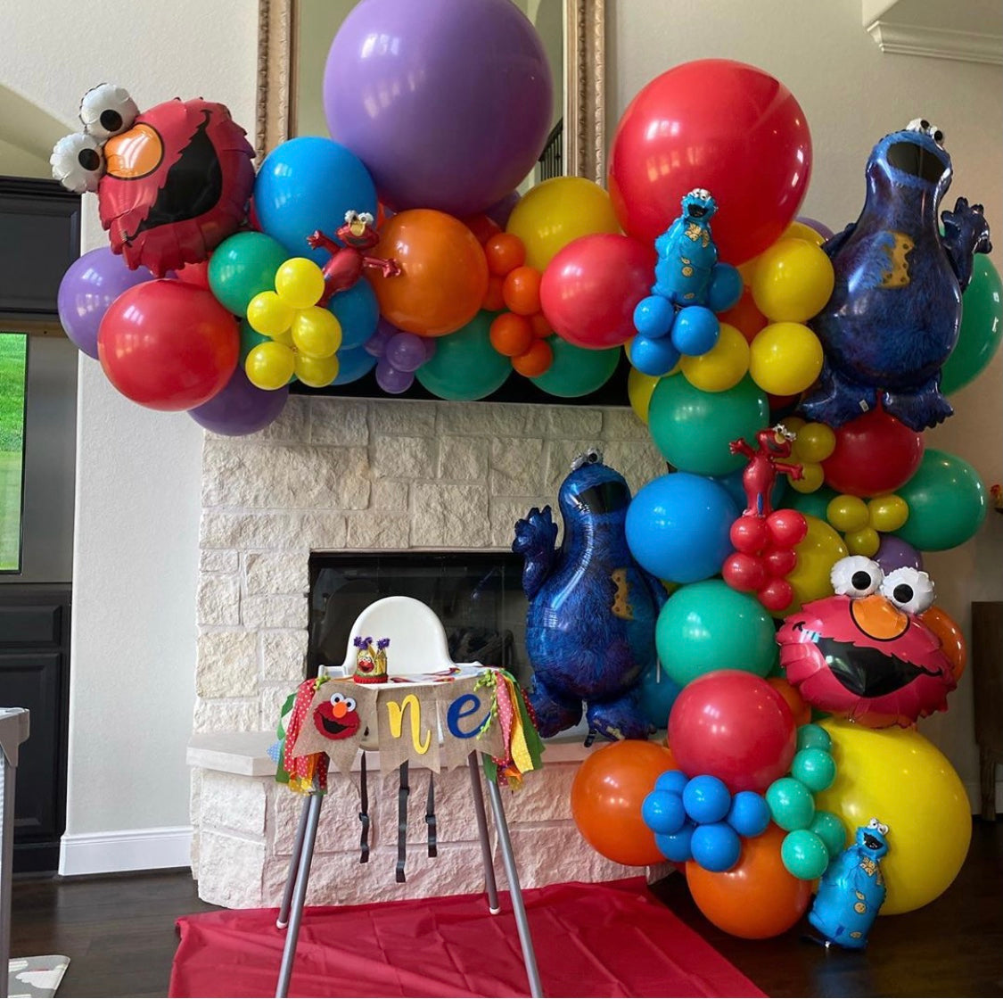Themed Balloon Garland