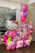 Load image into Gallery viewer, Hello Kitty Birthday Balloon Bouquet