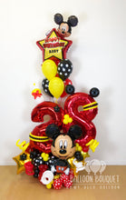 Load image into Gallery viewer, Mickey Mouse Birthday Balloon Bouquet
