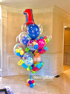 """Giant Colorful"" Birthday Bouquet Bunch"