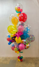 "Load image into Gallery viewer, ""Giant Colorful"" Birthday Bouquet Bunch"
