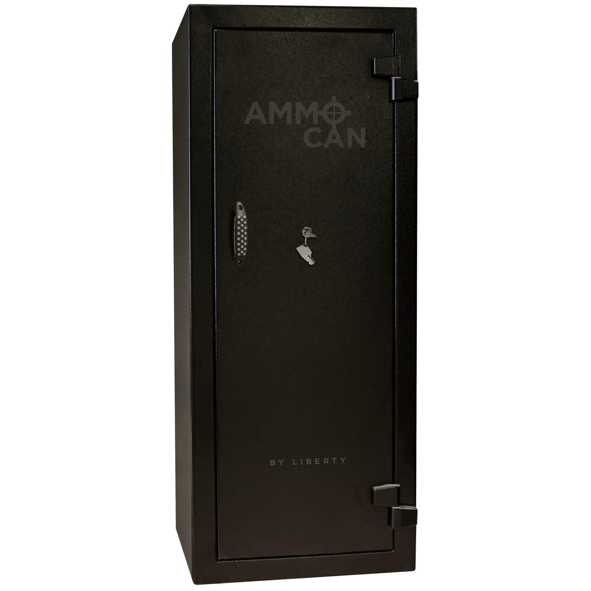 "Ammo Can | 18 | Black | Chrome Electronic Lock | 59.5""(H) x 24.25""(W) x 22""(D)"