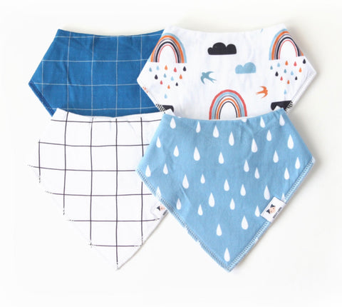 Dolly Lana Bandana Bib RAin