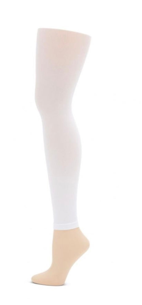 Footless White Tight 8-12 1817C