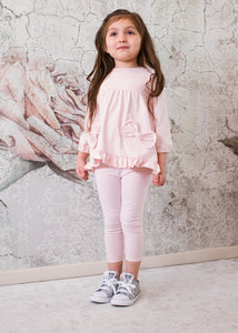 Isobella & Chloe 2 Pc. Bow pant set