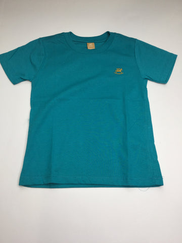 Up Baby Teal Jersey T-Shirt