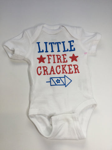 Little Firecracker s/s Bodysuit