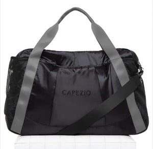 Capezio Black/Gray Motivational Duffle