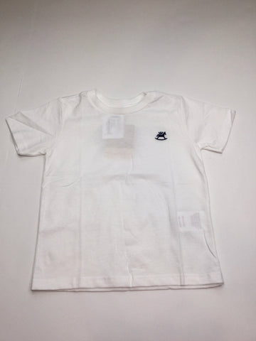 Up Baby White Jersey T-Shirt
