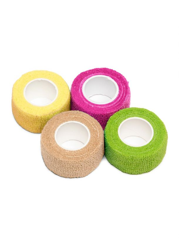Bunheads Adhesive Toe Wrap 4 Pack Multicolor