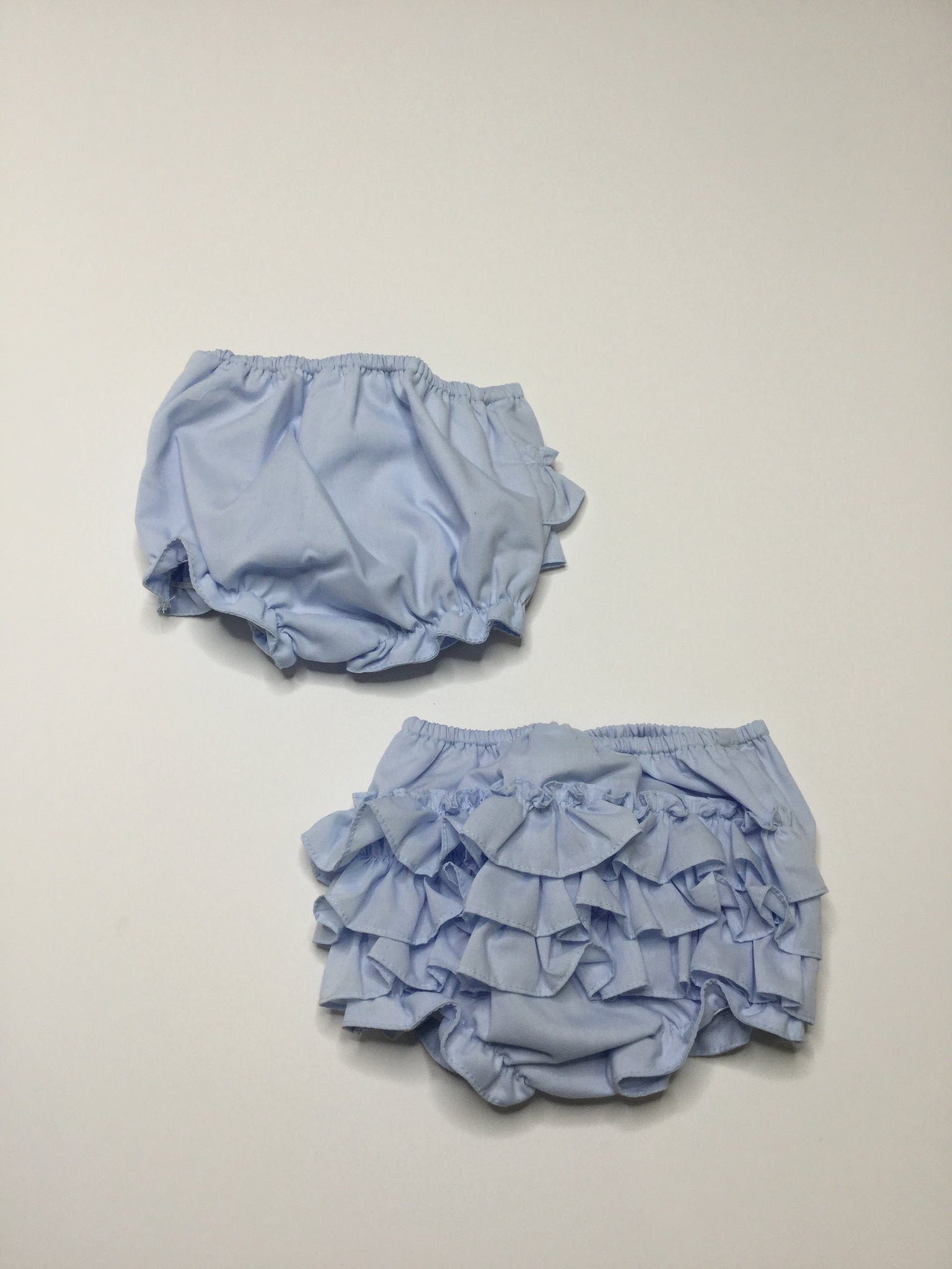 Sarah Louise Ruffle Bloomers Blue