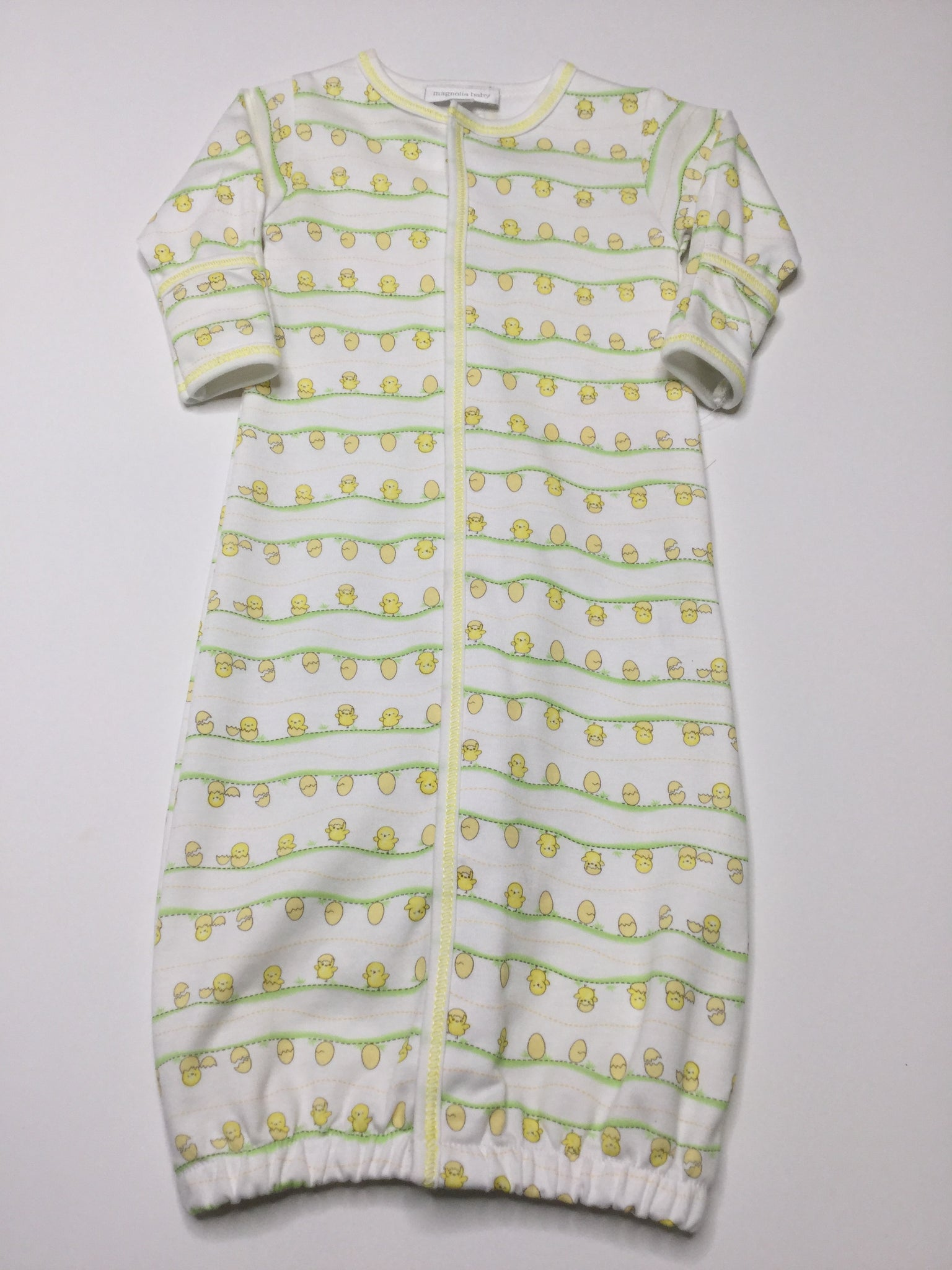 Magnolia Baby Striped Little Chick Converter Gown