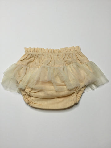 YoBaby Tulle Ruffle Bloomers Peach