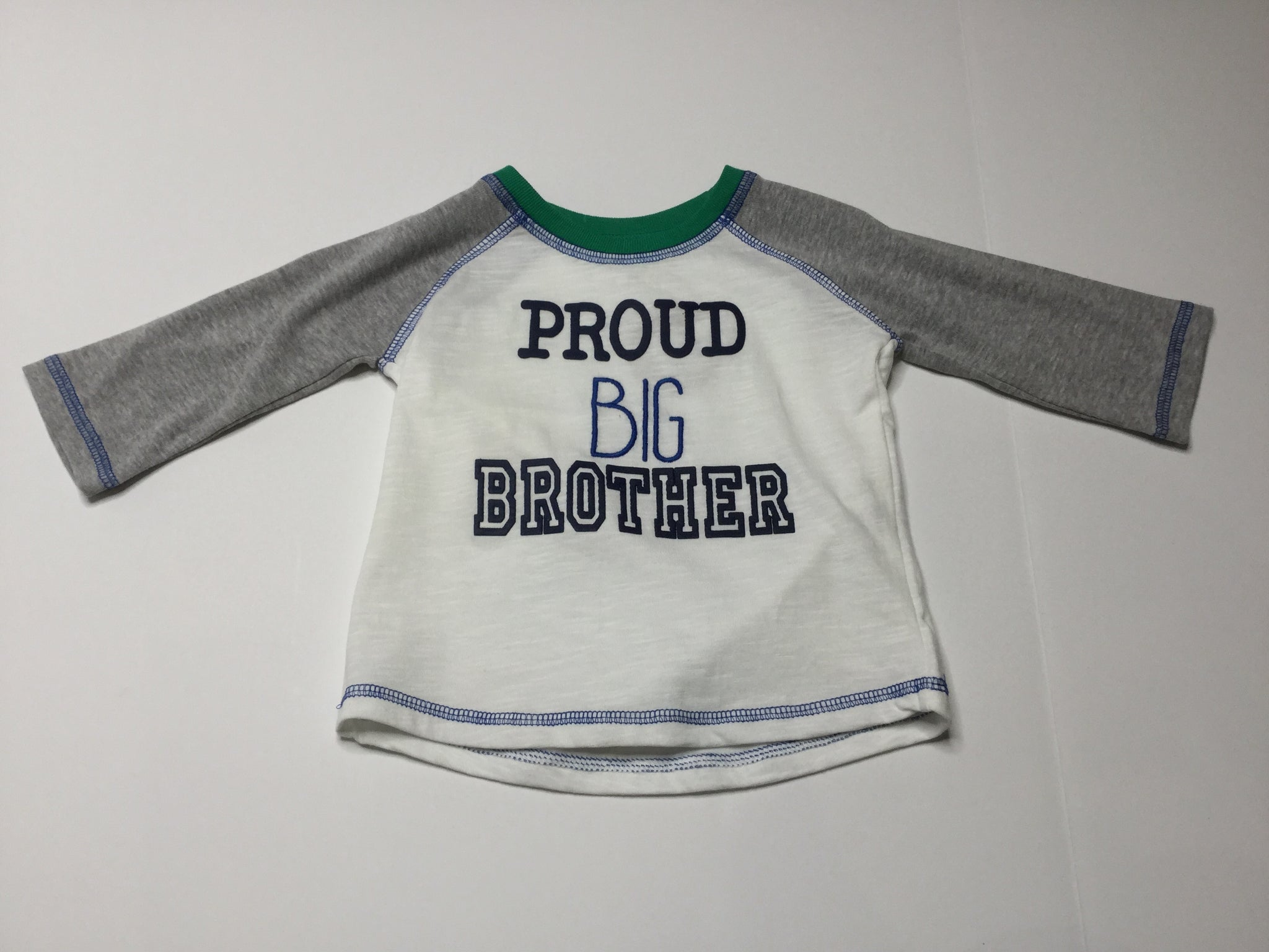 Mud Pie Proud Big Brother Shirt