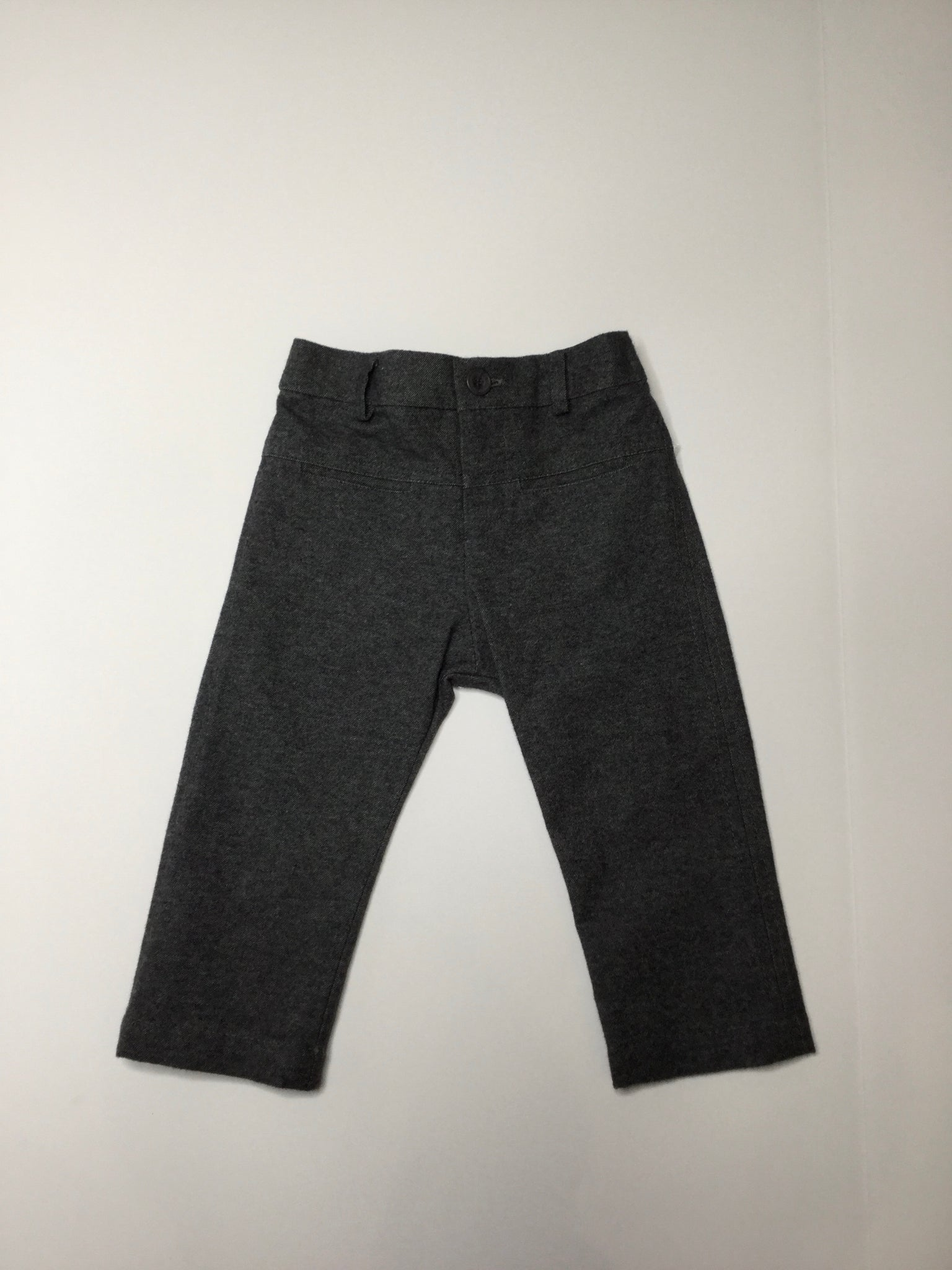 Sarah Louise Boy Dress Pant grey