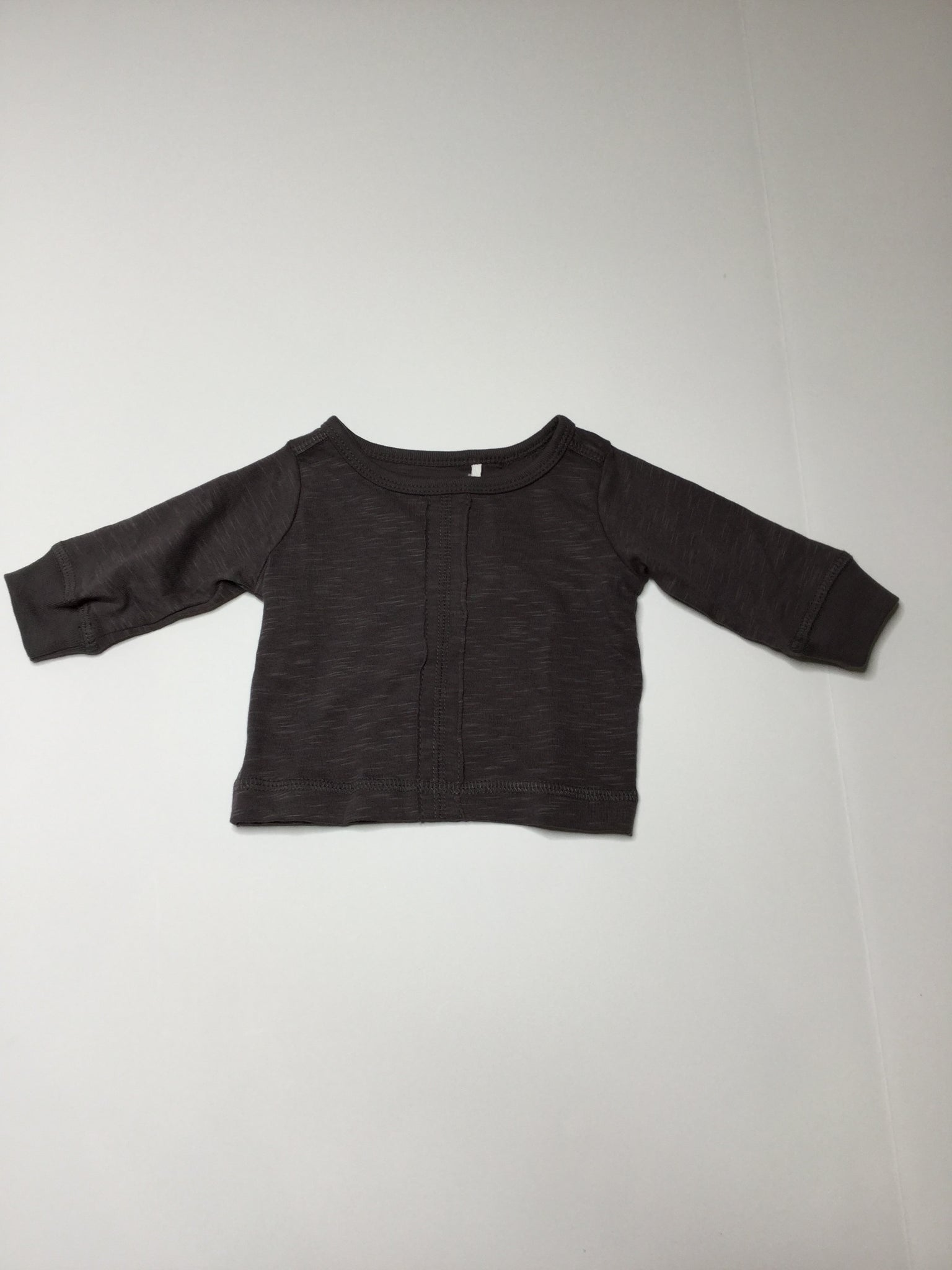 Oliver & Rain Long Sleeve Top charcoal